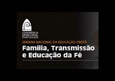 Semana Nacional da Educação Cristã centrada na transmissão da fé