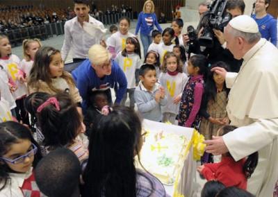 Vaticano: Sem-abrigo celebraram com o Papa na missa do seu dia de aniversário