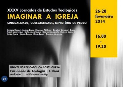 XXXV Jornadas de Estudos Teológicos arrancam quarta feira