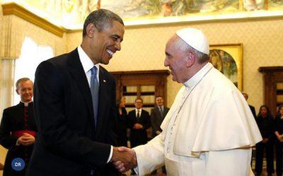 Papa recebeu Barack Obama no Vaticano