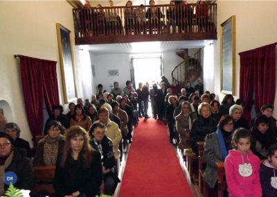Ermida de Nossa Senhora do Pranto recebeu 1º domingo da Quaresma com celebração eucarística