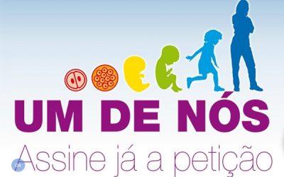 Petição «Um de nós» no Parlamento Europeu