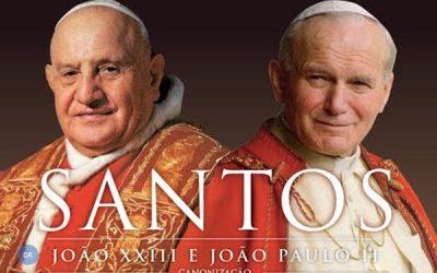 Canonização marcada pelo dia da Divina misericórdia, criado por João Paulo II