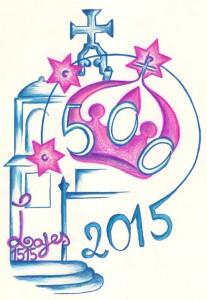 Logotipo comemorativo dos 500 anos de elevação a paróquia