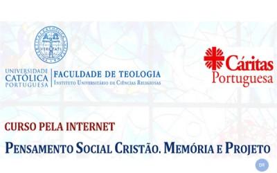 Faculdade de Teologia da Universidade Católica e Cáritas organizam formação sobre Pensamento Social Cristão