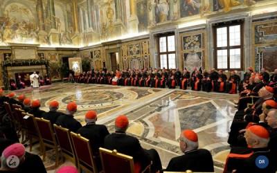 Papa refere 15 «doenças» na Igreja no encontro de Natal com a Cúria Romana