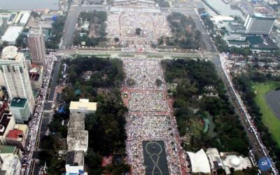 Papa Francisco celebra missa para seis milhões de pessoas em Manila