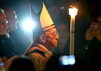 A luz de Deus no rosto do Papa Francisco