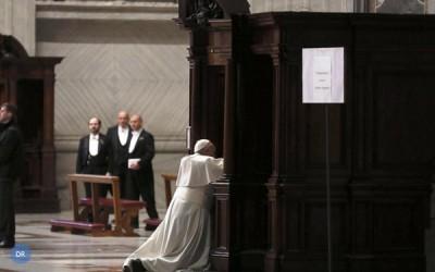 800 padres nomeados pelo Papa para perdoar pecados «reservados»