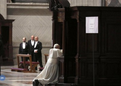 Papa convoca Jubileu dedicado à Misericórdia