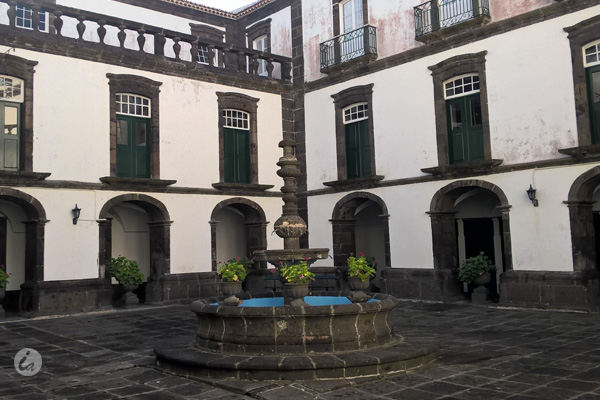 Antiga cozinha do Convento da Esperança transformada em  museu do Senhor Santo Cristo