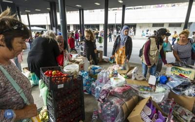 Jovens preocupados com migrante lançam campanha de envio de tendas para a Sérvia