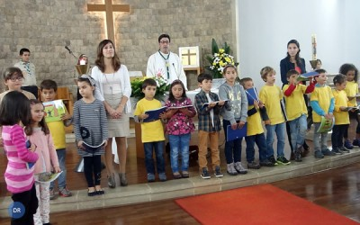 Ilha de Santa Maria apresenta uma prática dominical da ordem dos 10%