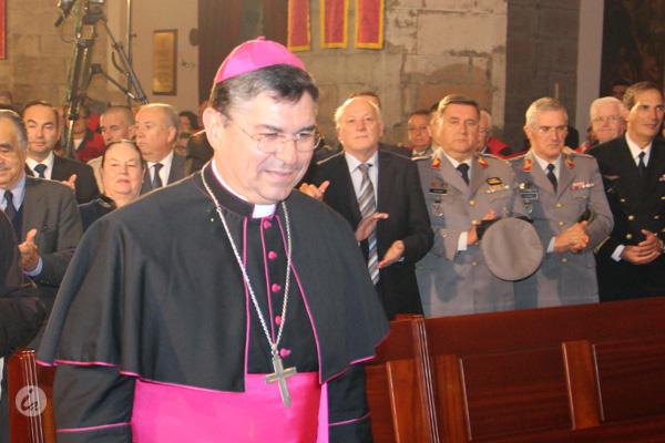 Bispo coadjutor de Angra celebra missa da festa de Natal do Estabelecimento Prisional de Angra