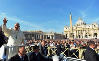 Mais de 3,2 milhões de pessoas estiveram com o Papa no Vaticano