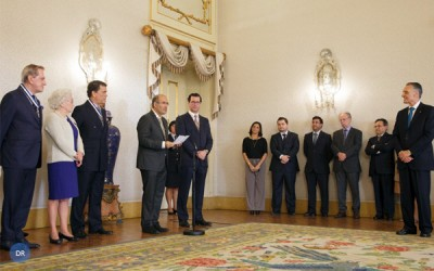 Presidente da República condecorou padre José Tolentino Mendonça
