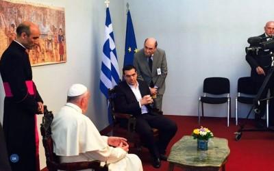 Papa em Lesbos para denunciar «maior tragédia humana» desde a II Guerra Mundial