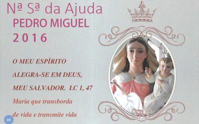 Pedro Miguel recebe festas em honra de Nossa Senhora da Ajuda