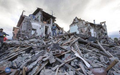 Papa mostra-se comovido com cenário de morte e destruição na Itália