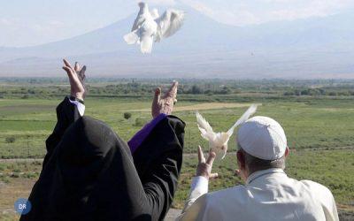 Papa propõe «não-violência» como caminho político para a solução de conflitos
