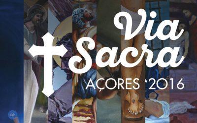 Bispo de Angra inaugura exposição de pinturas da Via-sacra