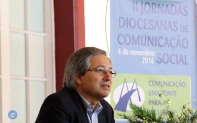 """A sociedade de hoje """"não cuida da comunicação"""" afirma Manuel Pinto"""
