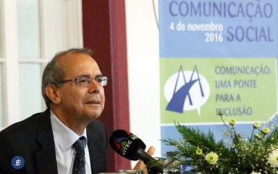 """Soromenho-Marques propõe uma """"contra utopia"""" baseada nos valores humanos como forma de promover uma sociedade inclusiva"""