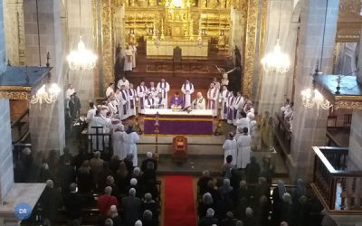 "Bispo de Angra destaca ""entrega, disponibilidade, sensibilidade e alegria"" de Monsenhor Augusto Cabral"