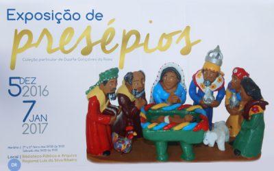 Cerimoniário da Sé empresta coleção privada de presépios para exposição na Biblioteca de Angra