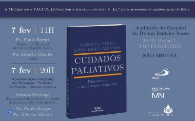 Livro sobre a intervenção espiritual em cuidados paliativos apresentado em Angra