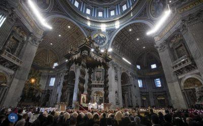Papa alerta para «orfandade espiritual» que atinge humanidade