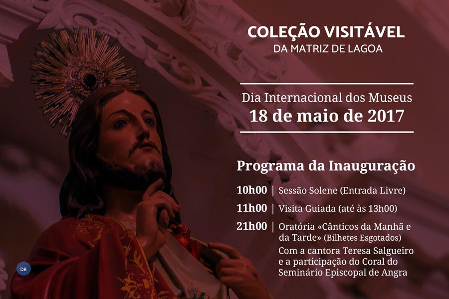 """Paróquia de Santa Cruz da lagoa inaugura espaço museológico e estreia Oratória """"Cânticos da Tarde e da Manhã"""""""