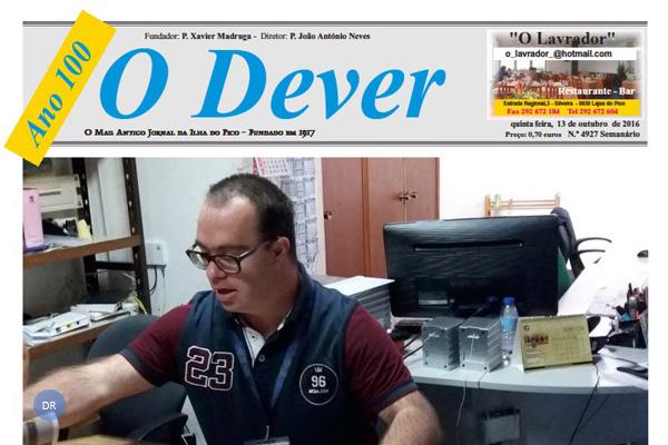 Jornal o Dever assinala hoje cem anos com uma sessão solene comemorativa presidida pelo bispo de Angra