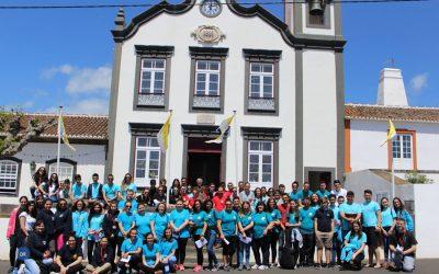 """Pastoral juvenil na ilha Terceira encerra ano com iniciativa """"Caminhar com Maria"""""""