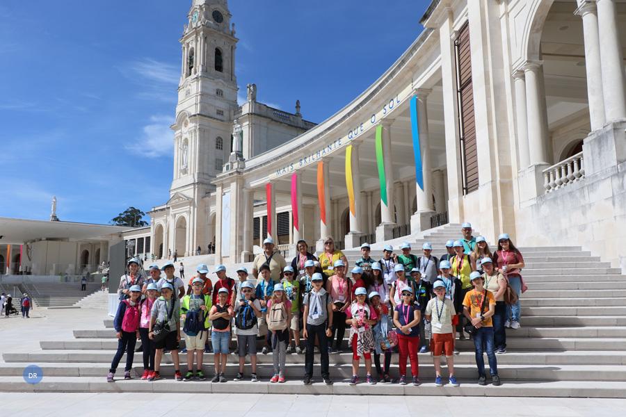 """35 crianças açorianas iniciam participação na peregrinação nacional que celebra a """"Senhora mais brilhante que o Sol"""""""