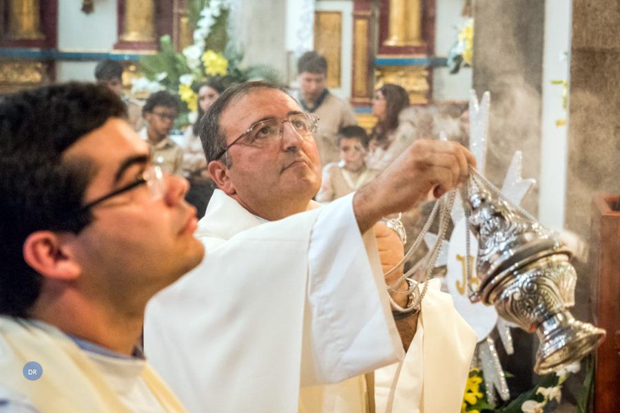 Paróquias da Fonte Bastardo e Porto Martins homenageiam Pe. Júlio Rocha por ocasião das suas bodas de prata sacerdotais