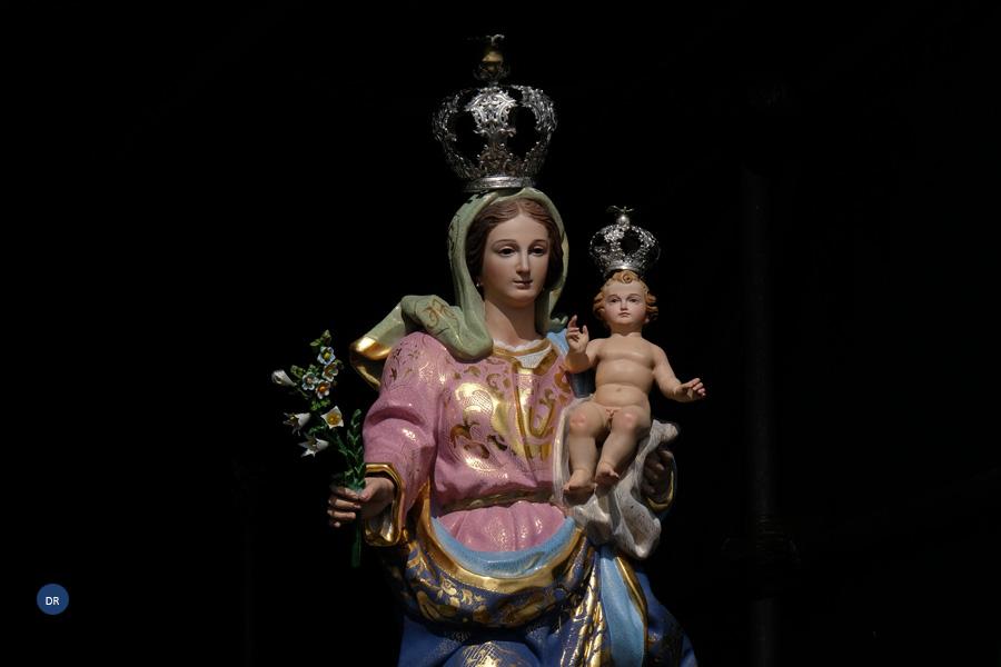 Festas em honra de nossa Senhora do Guadalupe presididas pelo Pe. Francisco Rodrigues