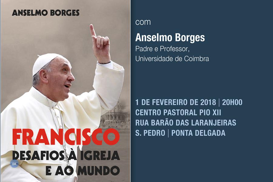 """Conferência do Pe. Anselmo Borges """"Papa Francisco: líder político-moral global"""" tem lugar em Ponta Delgada"""