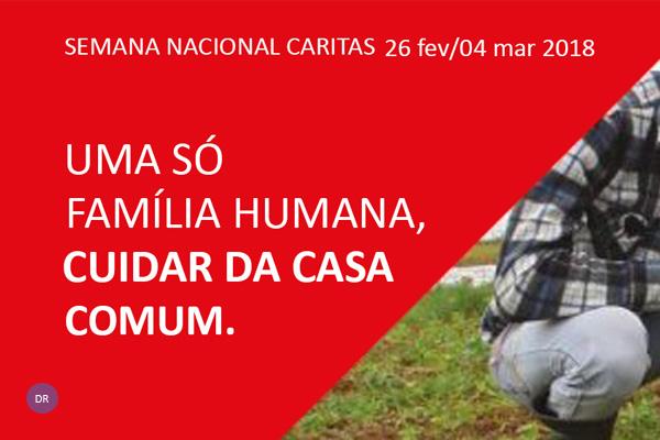 """Semana nacional da Cáritas apela ao cuidado pelo planeta """"em perigo"""" e pelos mais pobres"""