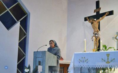 """""""Nós somos a expressão feminina do rosto de Deus"""", diz Ir. Elvira Toledo"""