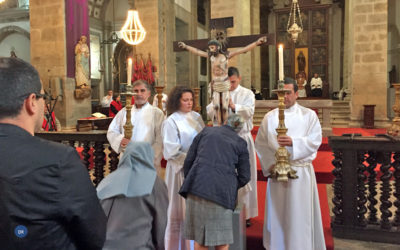 Bispo de Angra preside às celebrações do tríduo pascal na Sé