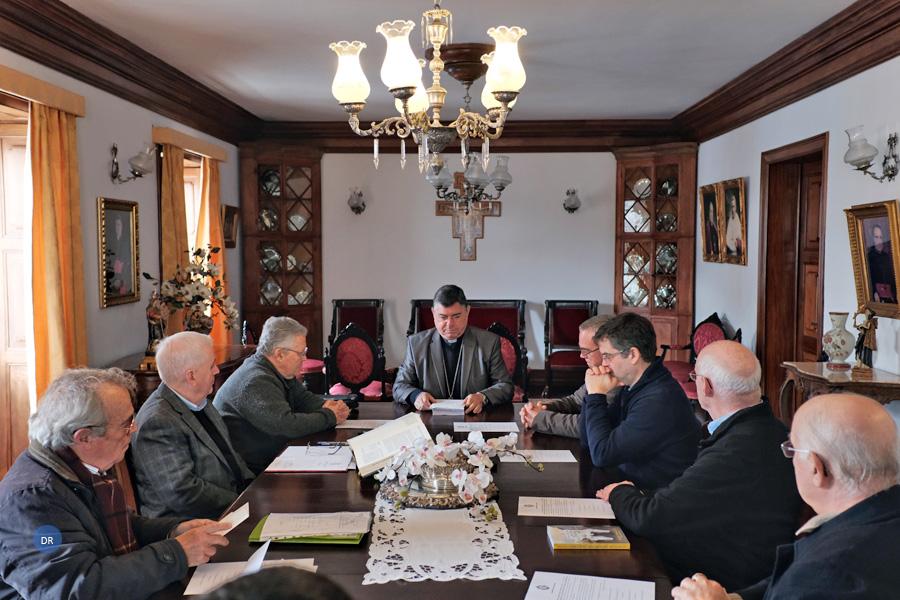 Comissão histórica do Processo de Canonização de Maria Vieira empossada pelo bispo de Angra