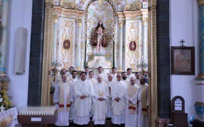 Pico acolheu terceiro turno do retiro anual dos padres diocesanos