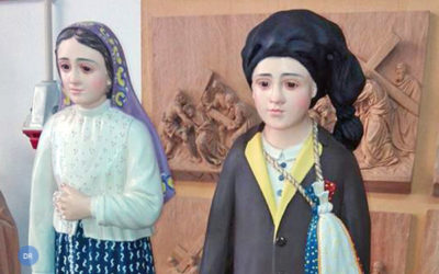 Igreja de Santa Cruz da Graciosa recebe imagens dos Santos Francisco e Jacinta Marto que serão entronizadas na Capela do Espírito Santo