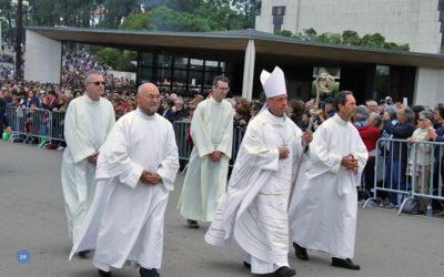 D. José Bettencourt preside à Missa dominical em Fátima antes de partir para a sua primeira missão como Núncio Apostólico da Santa Sé
