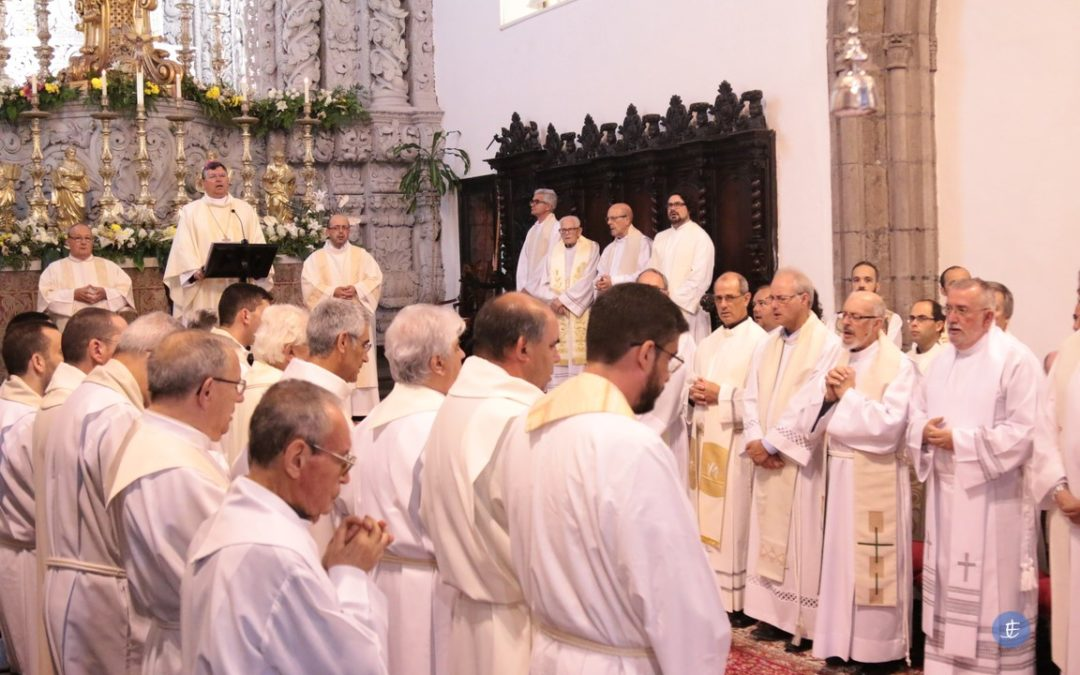 Bispo de Angra desafia sacerdotes a darem o melhor de si para a renovação da igreja diocesana