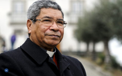 Bispo Ximenes Belo preside às festas do Divino Espirito Santo de Ponta Delgada