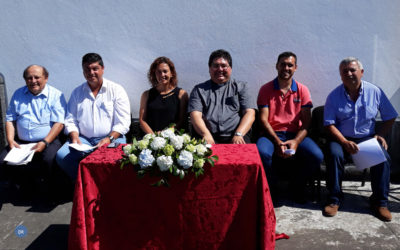 Bispo-auxiliar de Braga e vice-reitor do Seminário de Angra nas festas do Senhor Bom Jesus do Pico