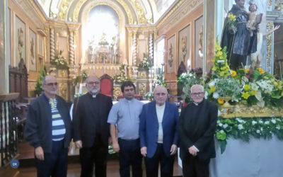Reitor do Seminário Redemptoris Mater em Boston regressa a casa para fazer festa com a comunidade que o viu nascer
