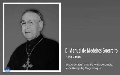 Paróquia de Santa Cruz prepara biografia do bispo D. Manuel de Medeiros Guerreiro